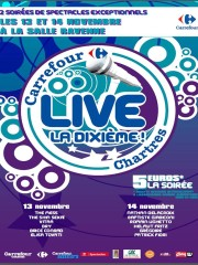 CARREFOUR LIVE CHARTRES 2013 – CHARTREXPO – SALLE RAVENNE