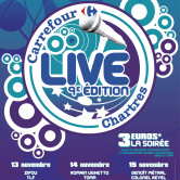 CARREFOUR LIVE CHARTRES 2012 – CHARTREXPO – SALLE RAVENNE